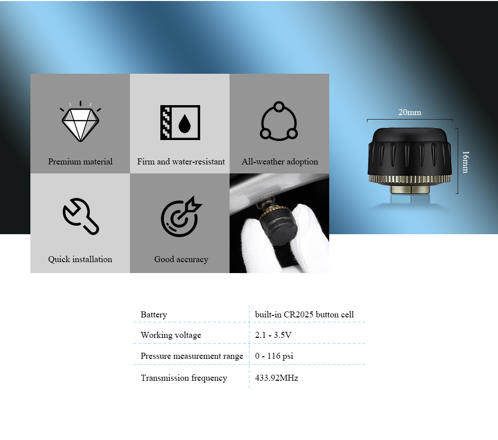 HTB1hO1pKkCWBuNjy0Faq6xUlXXaV - USB Android TPMS Car Tire Pressure Monitor with 4 External Sensors 116 psi Monitoring Alarm System 5V Wireless Transmission TPMS