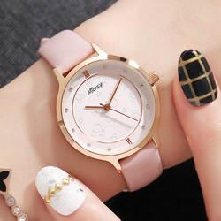 Disney Для женщин часы Роскошные модные Кварцевые наручные часы для Для женщин 2018 кожа дамы Девушки часы reloj mujer horloges vrouwen