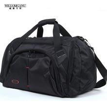 WILIAMGANU 2016 Neue Herren Reisetaschen Messenger Bags Große Reisetasche Europäischen und Amerikanischen Stil Umhängetasche