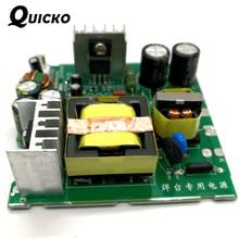 Quicko 새로운 도착 t12 전원 공급 장치 oled led 납땜 스테이션에 대 한 24 v 108 w 4.5a diy 키트 oled stc 디지털 전기 컨트롤러