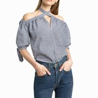Classic Plaid Shirts Women 100 Cotton Tops Female Fashion Blusas Plaid Blouses Thin Summer Style Autumn