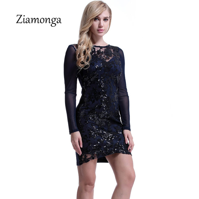 Sexy Red Sparkly Sequin Party Dress Women 2019 Elegant