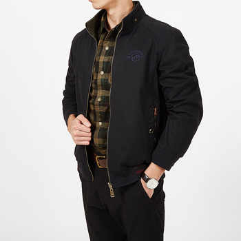 Brand Clothing Jacket Men Autumn Coats Military Jacket Male Double-sided Loose Jaqueta Masculina Pure Cotton Plus Size 7XL 8XL - DISCOUNT ITEM  49% OFF All Category