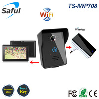 Popular WiFi Wireless Video Door Phone Intercom Doorbell Android IOS Smart Home PIR IR Night Vision