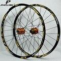 27,5 26er ruedas MTB bicicleta de montaña juego de ruedas 24 agujeros FRONTAL 2 trasero 4 rodamiento sellado lubricante súper suave Hubs de aluminio llantas