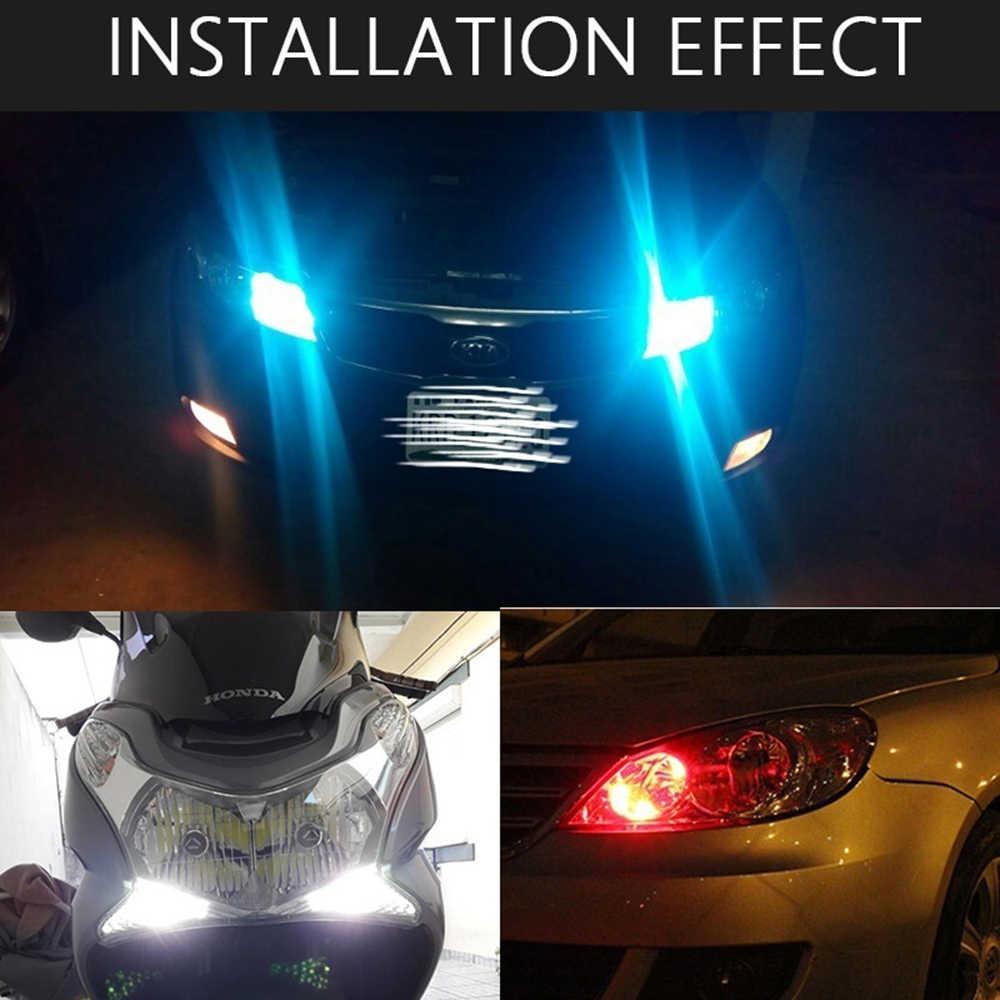 1Pc T10 6SMD LED Car Led Light Side Interior Lâmpada Led W5W T10 Silicone Shell Placa Virada Lado lâmpadas À Prova D' Água