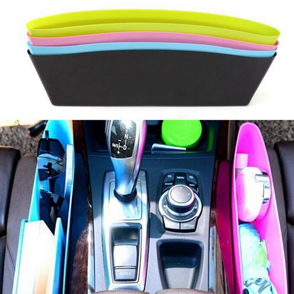 new car seat slit pocket pouch car storage box bag organizer auto car seat gap pocket catcher. Black Bedroom Furniture Sets. Home Design Ideas