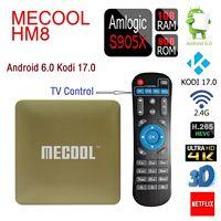 MECOOL HM8 TV Box Amlogic S905X Quad Core 64 Bit Android 6 0 Kodi 17 0
