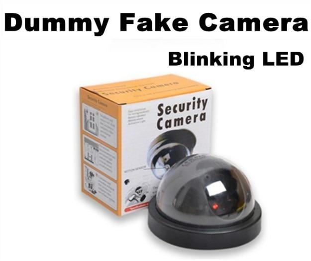 купить Emulational Fake Decoy Dummy Security CCTV DVR for Home DOME Camera with Red Blinking LED недорого