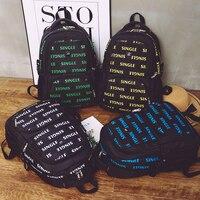 Big Backpack Letter Printing School Backpack For Boys Or Girls Preppy Style Leisur Or Travel Bag