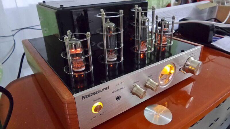 Potência de Saída Amplificador de Potência de Alta w + 25 Nobsound Tubo Amplificador Classe um Fidelidade Versão Clássica Comum 25 w Ms-10d