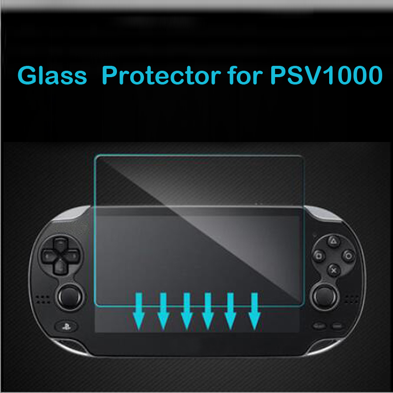 Tempered Glass Clear Full HD Screen Protector Cover Protective Film Guard for Sony PlayStation Psvita PS Vita PSV 1000 Console enkay clear hd screen protector protective film guard for sony xperia z3 l55t transparent