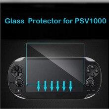 Vidro temperado claro hd completo protetor de tela capa película protetora guarda para sony playstation psvita ps vita psv 1000 console