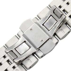 Image 3 - 18mm 20mm 22mm A Sgancio Rapido In Acciaio Inox Cinturino per Omega Longines Tissot Mido Hamilton Cinturino Da Polso Strap Bracciale