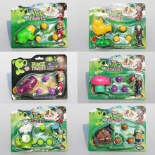 6Styles PVZ Plants VS Zombies Figures Toys Agriculture Gun Zombies PVC Figure Toy Model Dolls Great Gift(China)