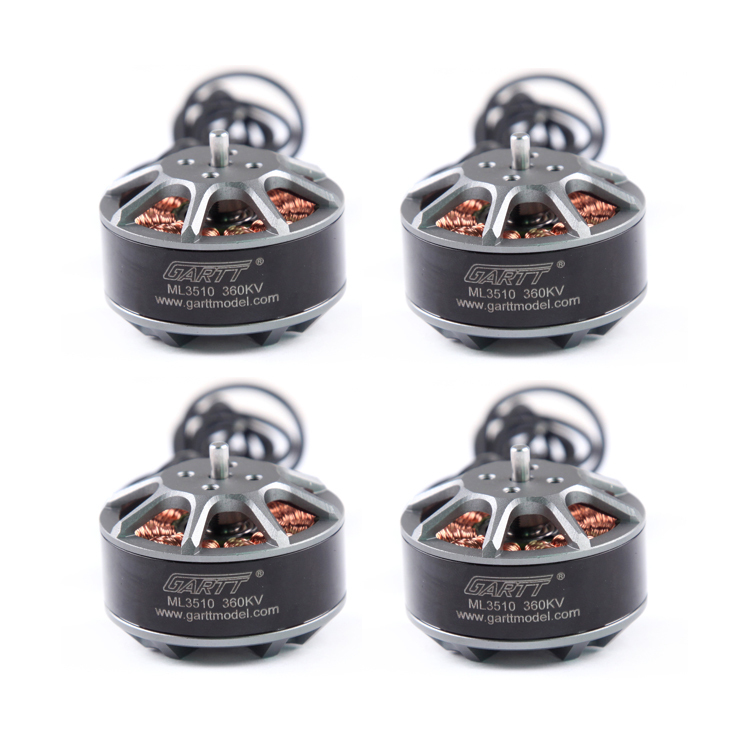 4PCS GARTT ML 3510 360KV Brushless RC Motor For Multicopter Quadcopter Hexacopter Drone xxd 4pcs a2212 1000kv brushless motor with 4pcs 30a esc for multicopter quadcopter