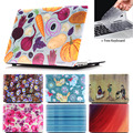 Floral Rose Oil pinting Case For Apple Macbook Air 13 Case Air 11 Pro 13 Retina 12 13 15 Laptop Bag perfect Print Lace Pattern