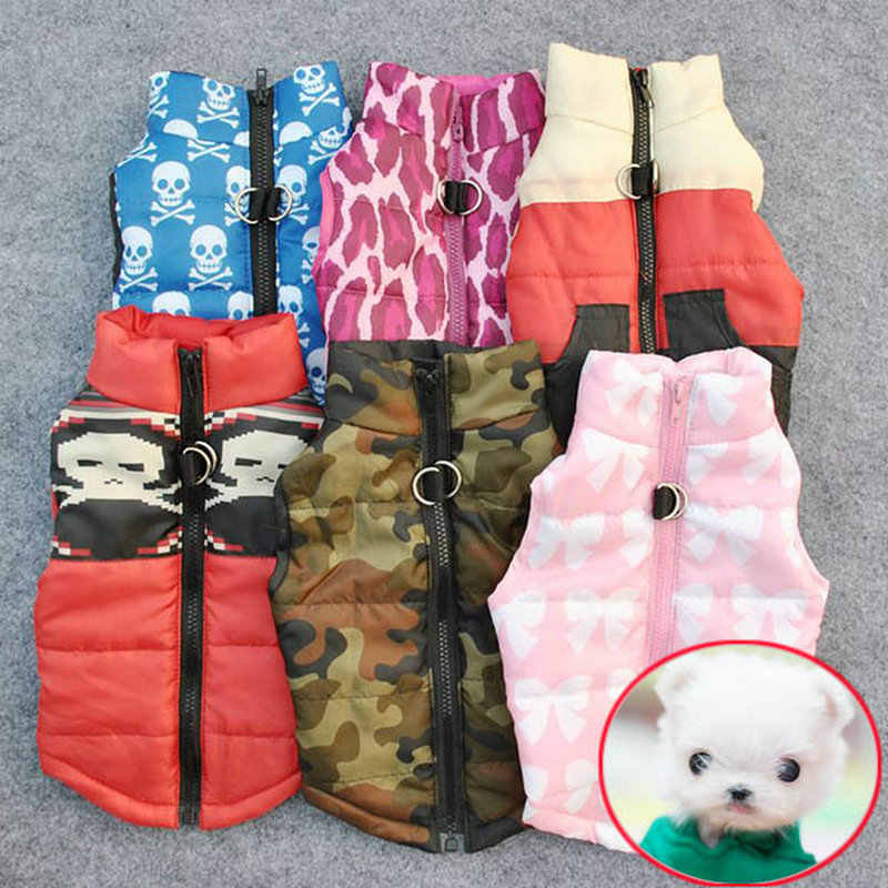 Winter Hond Kleding Voor Honden Warme Hond Jas Kleding Voor Kleine Honden Vest Huisdier Jas Puppy Outfit Chihuahua Winter Kleding