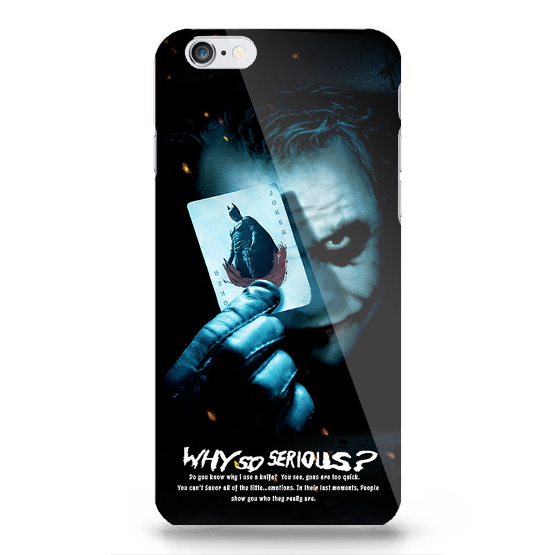 why so serious batman pc phone case bags for apple iphone 5 5s 6 6s