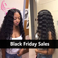 Indian Deep Curly With Closure, Indian Deep Wave Virgin Hair 3 Bundles With Lace Closure, Ms Coco Hair with Unice Silky Closure