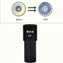 2X био-микроскоп Барлоу объектив установлен окуляр биологического микроскопа адаптер Размер 23,2 мм