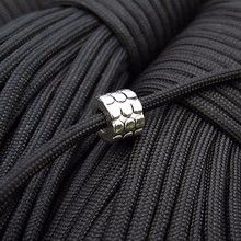 1pc Paracord Beads Metal Charms Bracelet Accessories Survival DIY Pendant Buckle for Knife Lanyards