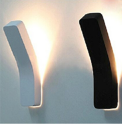Lumi re applique murale Blanc noir lampe de mur de LED moderne pour le lit clairage Résultat Supérieur 15 Merveilleux Applique Murale Lumiere Image 2017 Kqk9