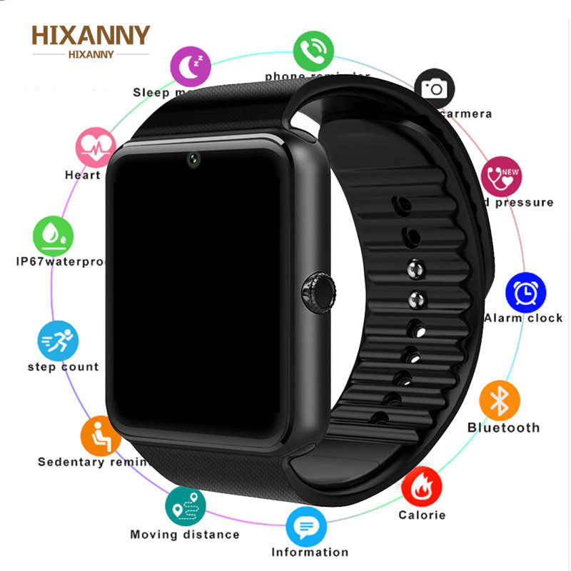 2019  Smart Watch GT08 Clock Sim Card Push Message Bluetooth Connectivity For Android IOS apple Phone PK  DZ09 Smartwatch Men