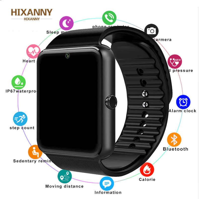 2019  Smart Watch GT08 Clock Sim Card Push Message Bluetooth Connectivity For Android IOS apple Phone PK  DZ09 Smartwatch Men