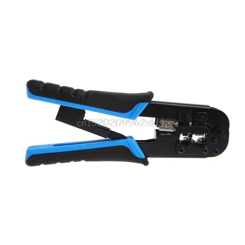 Network Cable Crimper Plier RJ45 RJ11 RJ22 TL-N5684R Dual-Modular Crimping Tool #H029#