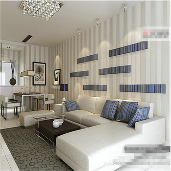 Beibehang Non Wovens Wallpaper Simple Modern Vertical Striped Wallpaper House Living Room Bedroom Full House Tv Background Buy At The Price Of 32 34 In Aliexpress Com Imall Com