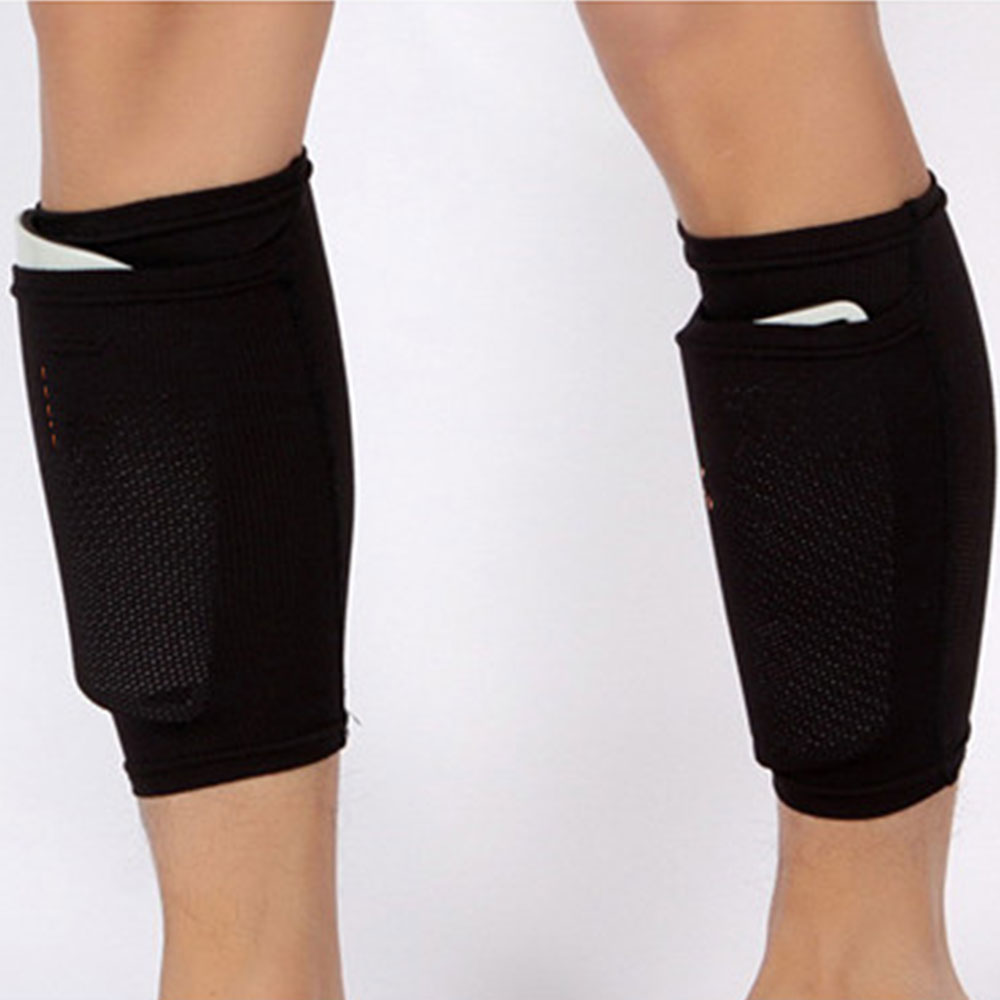 2pcs 22CM Leggings Plate Holder Sports Training Men Shin Guard 2 Color Professional Safety Football Protection Supplies