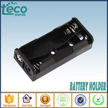 Wholesale (100Pcs/lot) 2 AAA Battery Case Holder Box Base Socket With two pins AAA  TBH 3A 2C P