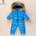 Winter Baby Coats Snow Wear Duck Down Jacket Baby Boy Snow Suits Girl Clothing Children Jumpsuit Infant Costume Baby Romper