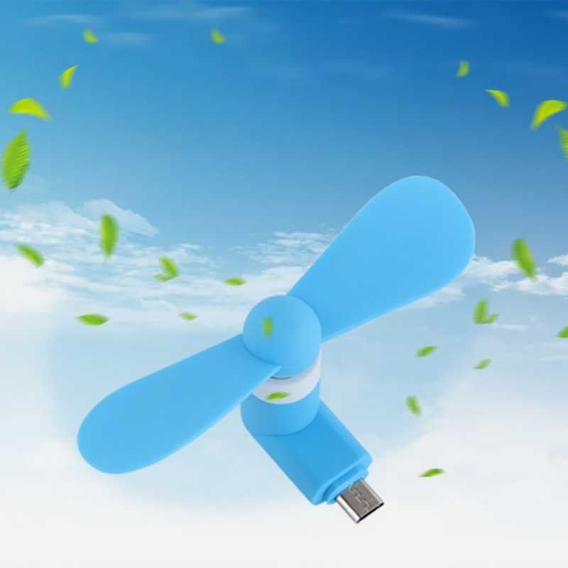 Android Telefon Lüfter Kleine Tragbare Silent-Plug-und-play USB Kühler