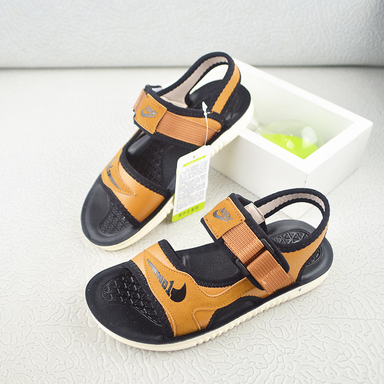 2018 NEW Summer boys sandals fashion beach sandals kids baby shoes ...