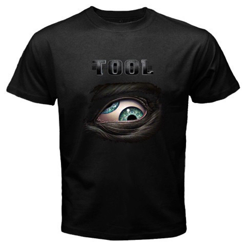 Design t shirt online tool - 2017 Fashion Men S Summer Casual Tops Simple New Tool Lateralus Eye Logo Rock Band Design