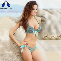 Push Up Bikini Roupa De Praia Swimwear Women Padded Boho Fringe Bandeau Bikini Set New Swimsuit