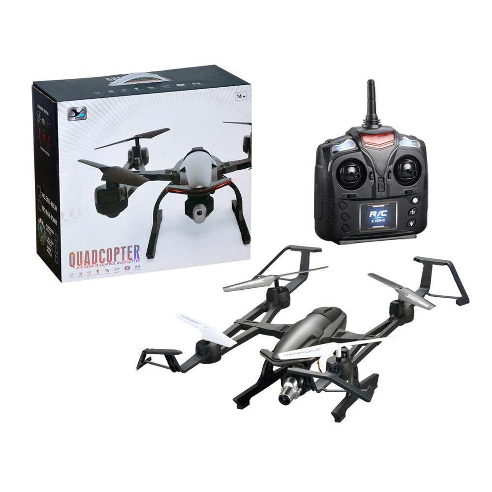 Hot RC Helicopter 2.4G 4-Channel 6-Axis Altitude Hold HD Camera RC Quadcopter Drone Selfie Foldable High Qaulity #0421 new flying ball 415b 415c mini drone with 0 3mp camera foldable rc drone 2 4g 4ch rc helicopter headless dron altitude hold quad