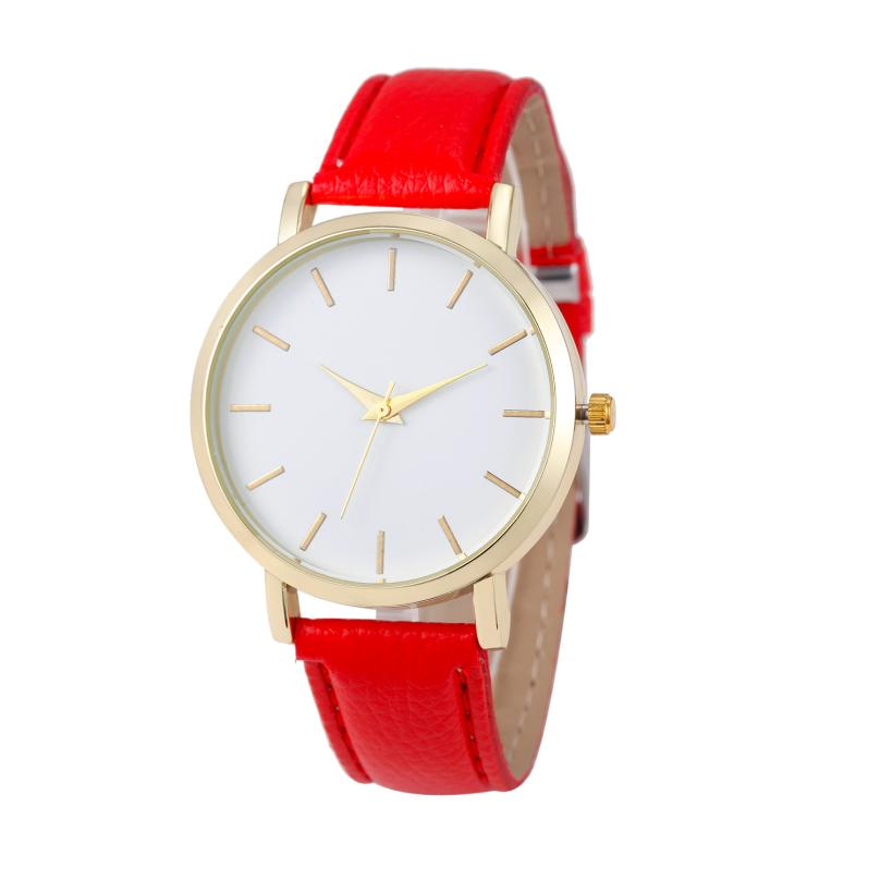2017 Superior Luxury Quartz Watch Men Women Famous Brand Gold Leather Band Wrist Watches Gift Dec 29