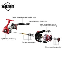 SeaKnight New PUCK 2000 3000 4000 5000 Spinning Reel 5.2:1 Fishing Reel 9KG Max Drag Power Spinning Wheel Long Casting Fishing