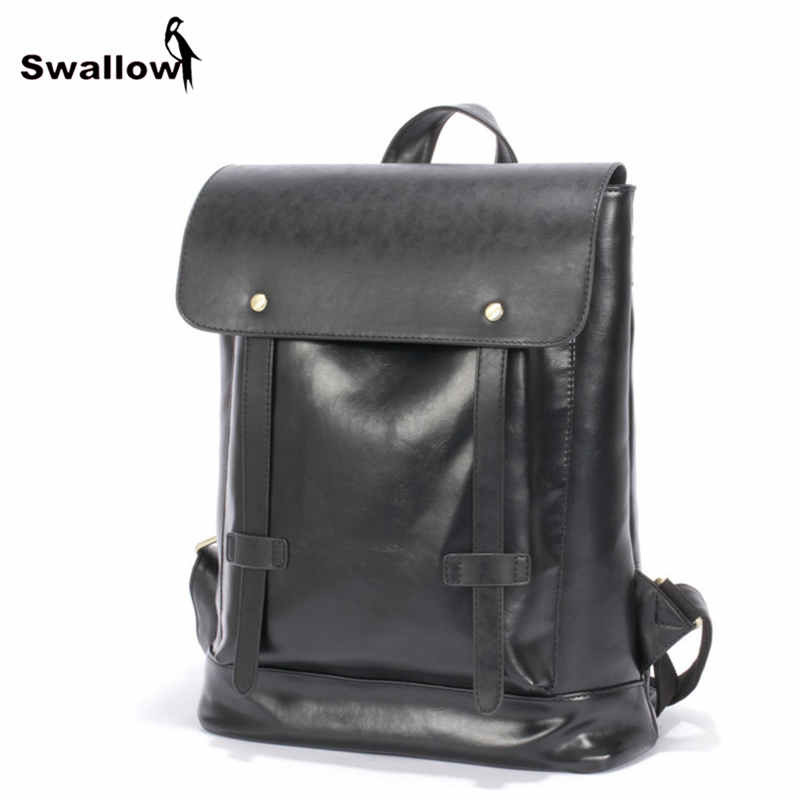 High Quality Vintage Leather Backpack Men Travel Functional Men Backpack Male Bags Large Capacity Fashion Collage Backpacks 2016 new fashion business travel sports men handbags with high quality vintage male packs large capacity man bags