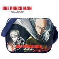 Anime One Punch Man Messenger Bag Fashion Canvas School Students Shoulder Bag 685Leisure Crossbady Bag Gift
