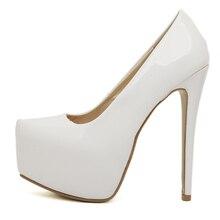 High Quality Pu Women Pumps Slip ON Bridal Shoes Thin Heels 6Colors Sexy Party Shoes Plus Size EU35-44 M