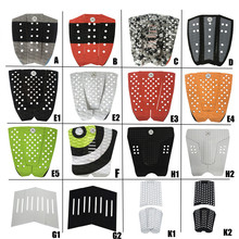 Surf 3M Glue Pad pranchas de front pad EVA black/white colors Surfboard traction surf mat presale