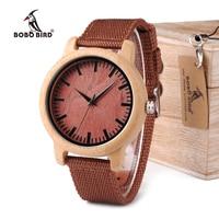 New Arrival 2015 Pretty Wood Wristwatches Japan Majoy Movement Clock Men S Fashion Brand Designer Bamboo