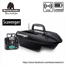 BearCreeks Scavenger V1 Carp Fishing Bait Boat with Lithium Battery 500m RC Distant Management 7000g Lure Boat