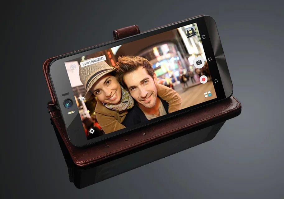 Capa Zenfone Selfie pemegang kartu penutup kasus Untuk ASUS Zenfone - Aksesori dan suku cadang ponsel - Foto 4