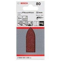 BOSCH 2608605168 Lija Delta C430 32mm G80 X5