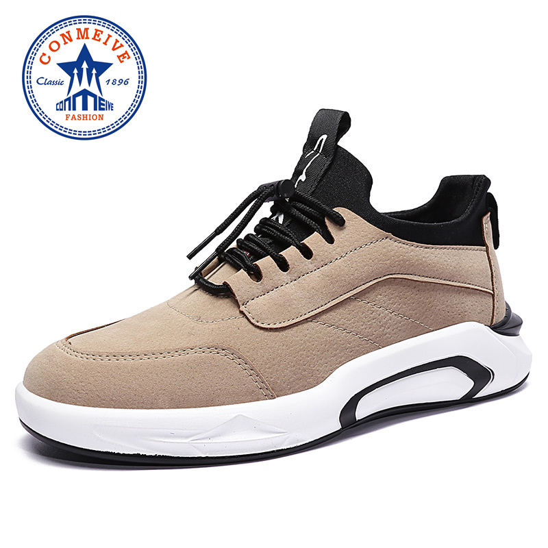New Arrival Running Shoes for Men 2018 Breathable Cushioning Sneakers Male Spring and Autumn Brand Light Sports Jogging Shoe mulinsen brand new autumn men running shoes outdoor sports shoes breathable jogging training sneakers 270102
